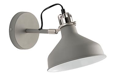 MERLY Vägglampa Grå