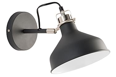 MERLY Vägglampa Svart