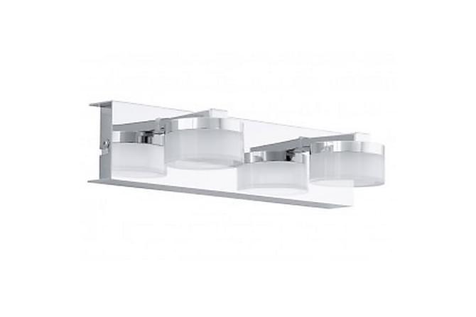 ROMENDO Vägglampa 30 LED 2 Lampor Krom/Blank - Eglo - Inomhus - Belysning - Vägglampor