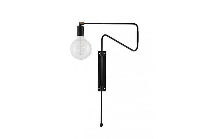 SWING Vägglampa Svart - Möbler & Inredning - Belysning - Vägglampor