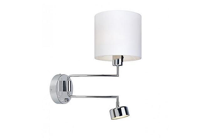 THELMA Vägglampa 2L Krom/Vit - Möbler & Inredning - Belysning - Vägglampor