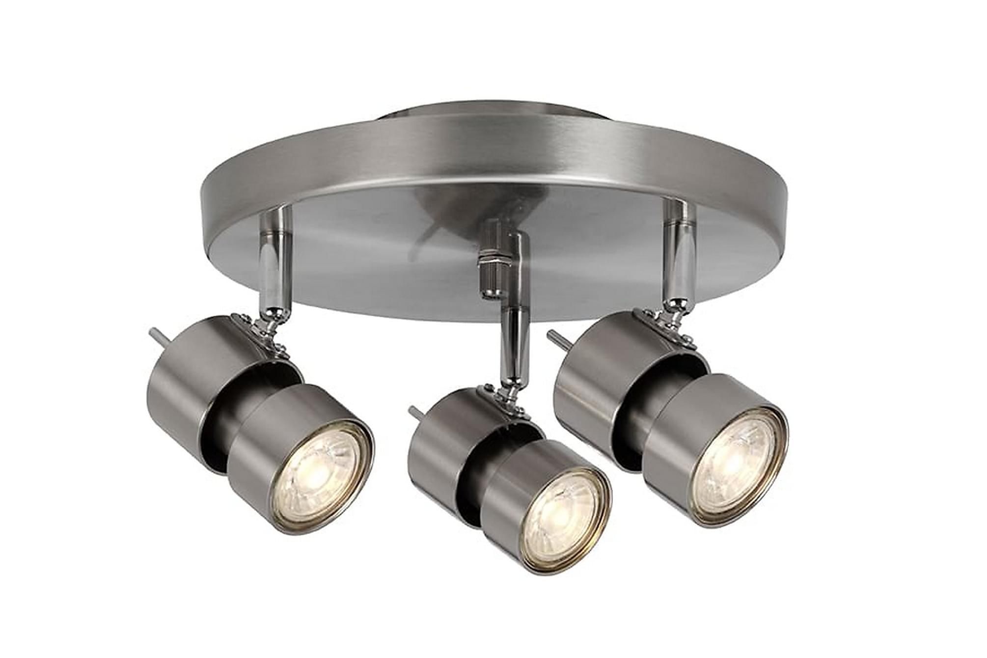 ALUMINATI Spotlight 24 Rund 3 Lampor Aluminium, Belysning