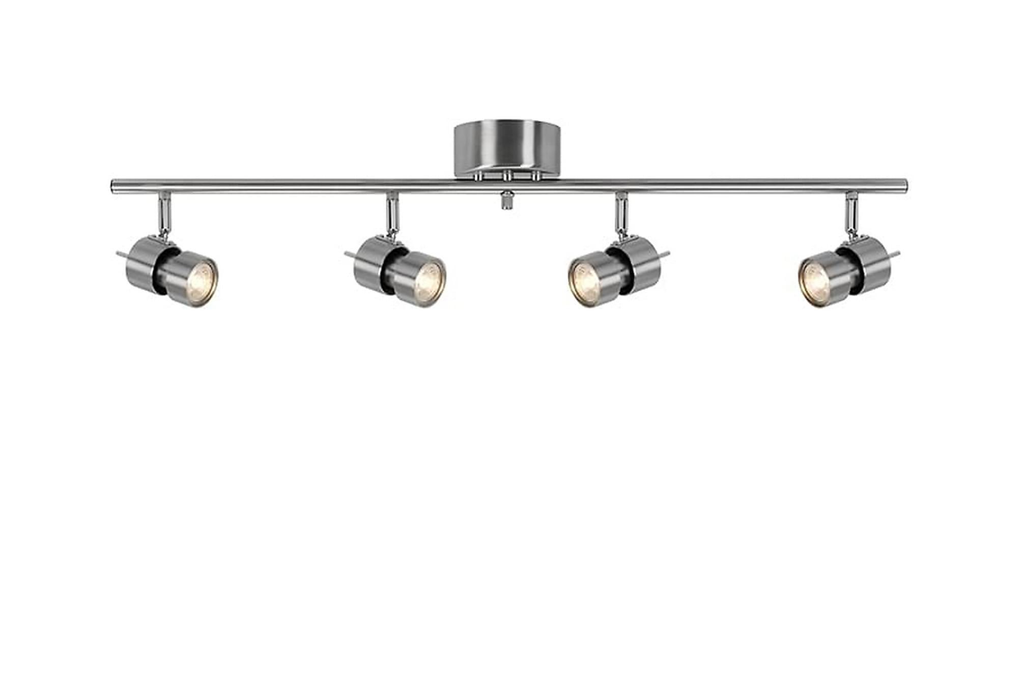 ALUMINATI Spotlight 83 4 Lampor Aluminium, Belysning
