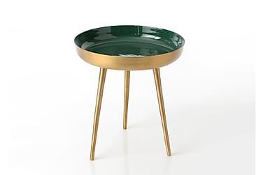 Sidobord 47 Guld/Grön