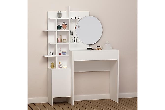 VALERY Sminkbord Vit - Vit - Möbler & Inredning - Bord - Avlastningsbord