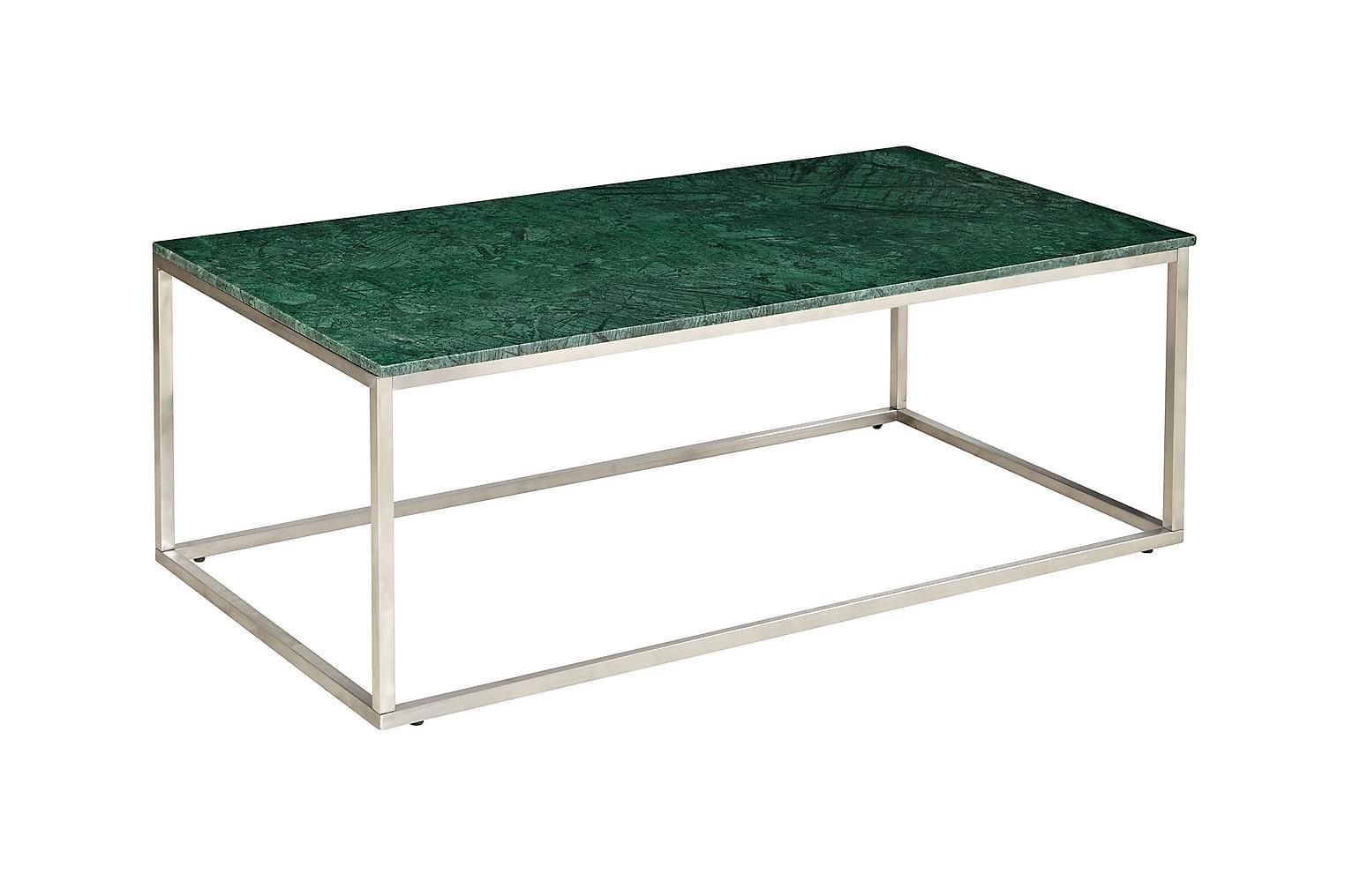 CARRIE Soffbord 120 Stål/Grön