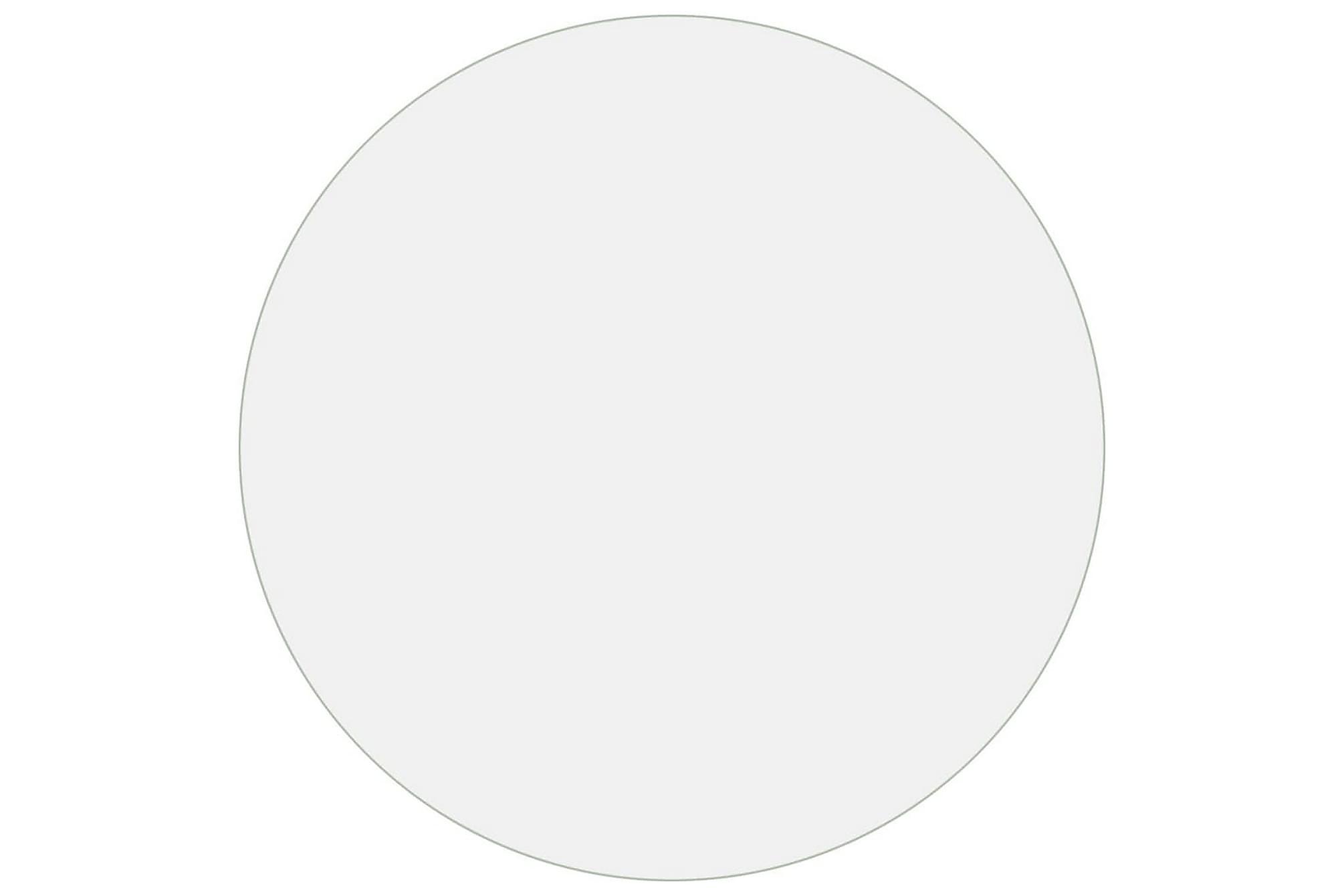 Bordsskydd genomskinligt Ã? 80 cm 2 mm PVC, Bordsben & tillbehör