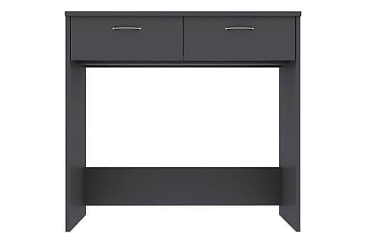 Skrivbord grå 80x40x75 cm spånskiva, Datorbord thumbnail