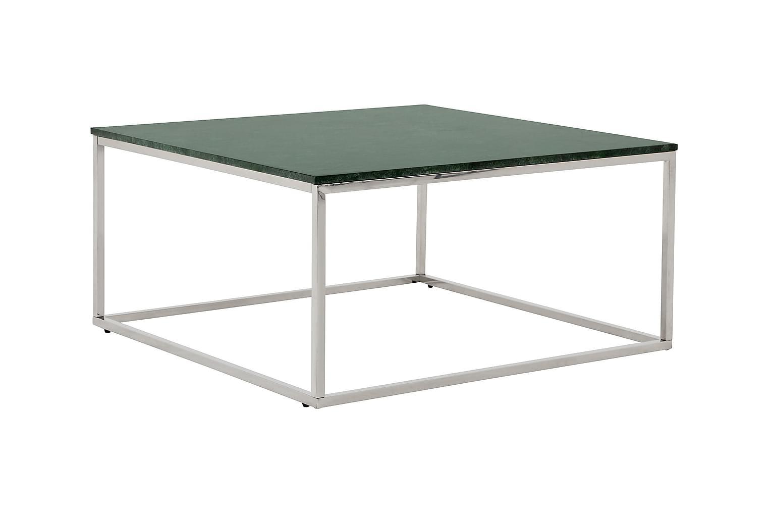 CARRIE Soffbord 90 Stål/Grön