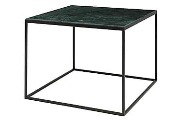 HALSTEIN Soffbord 60 Marmor Grön/Svart