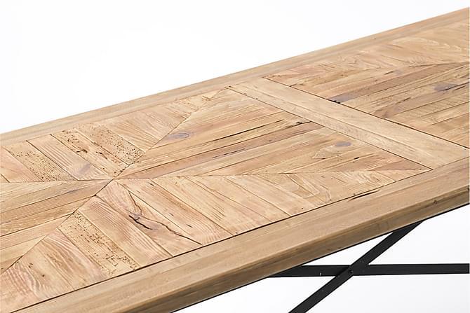 VAROS Matbord 95x76 cm Svart/Trä/Natur - Möbler & Inredning - Bord - Marmorbord