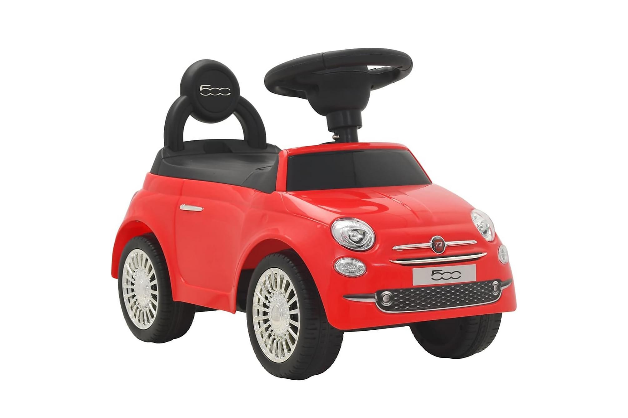 Åkbil Fiat 500 röd, Matbord