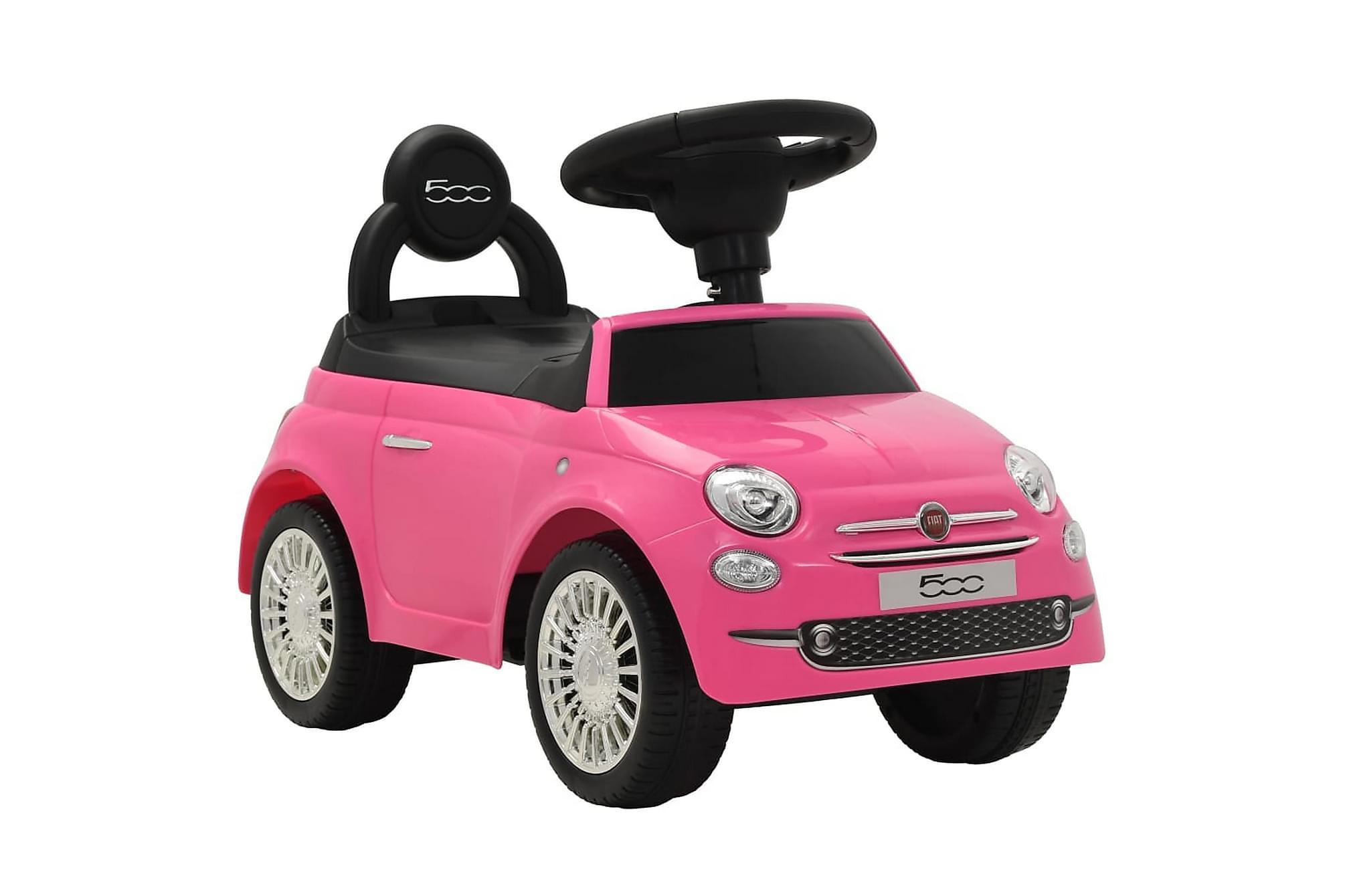 Åkbil Fiat 500 rosa, Matbord