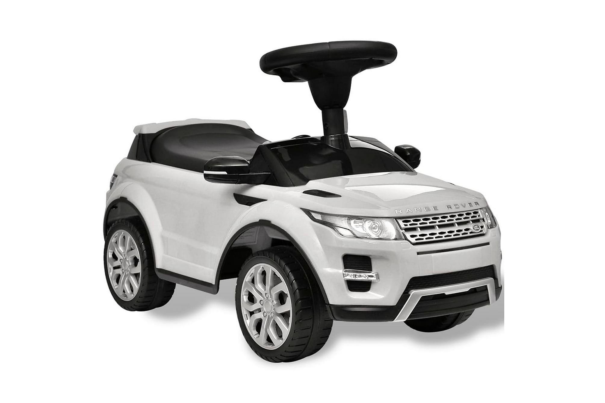 Åkbil för barn Land Rover 348 med musik vit, Matbord
