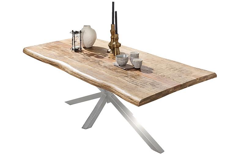 BAMRA Matbord 220 cm Mango/Natur/Silver - Möbler & Inredning - Bord - Matbord
