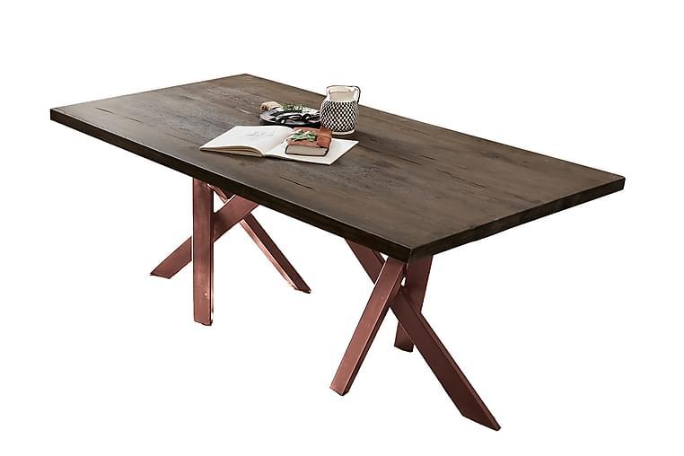BAMRA Matbord 240 cm Brun - Möbler & Inredning - Bord - Matbord