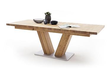 CARLEJU Förlängningsbart Matbord 180 Trä/Natur