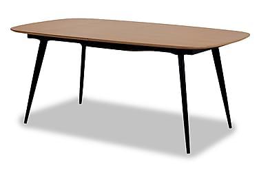 DAFNA Förlängningsbart Matbord 180 Trä/Svart