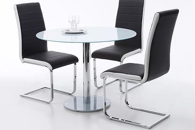 FALKO Matbord 100 Rund Glas - Möbler & Inredning - Bord - Matbord