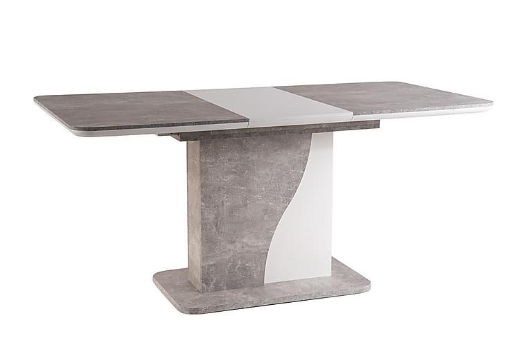JASIONA Förlängningsbart Matbord 120 cm Grå - Möbler & Inredning - Bord - Matbord