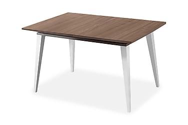JIMENA Förlängningsbart Matbord 134 Valnöt/Vit