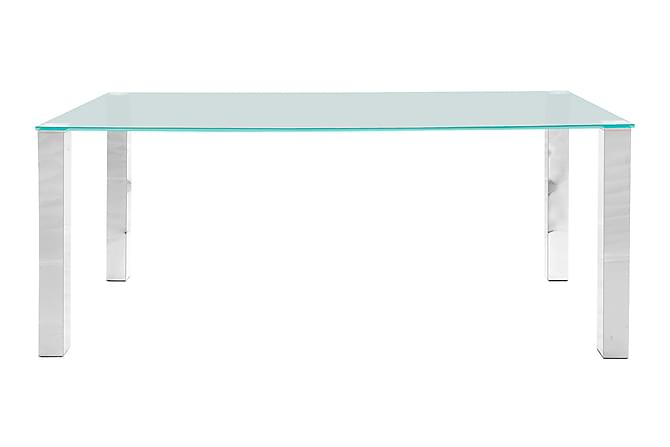KANTOR Matbord 180 Glas/Krom - Inomhus - Bord - Matbord