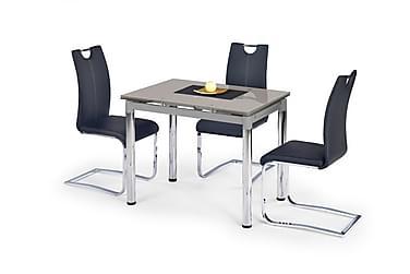 LECIA Förlängningsbart Matbord 96 Glas Grå