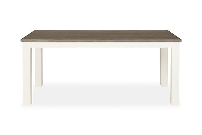 MACAYA Matbord 180 Vit/Grå - Möbler & Inredning - Bord - Matbord