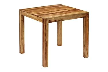 Matbord i massivt sheshamträ 82x80x76 cm