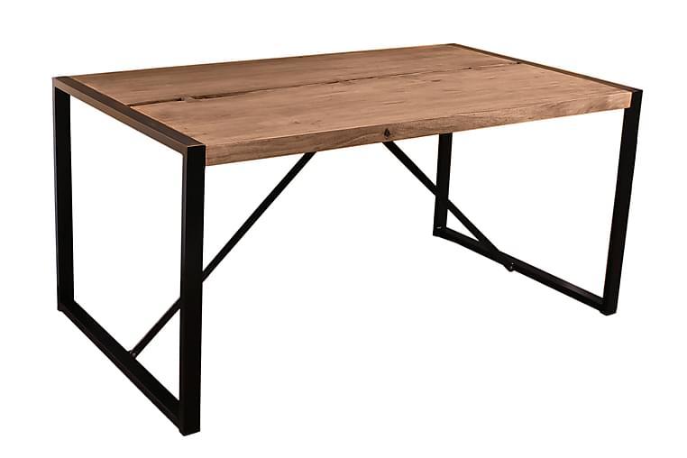 MILKONI Matbord Trä/Natur/Svart - 200 - Möbler & Inredning - Bord - Matbord