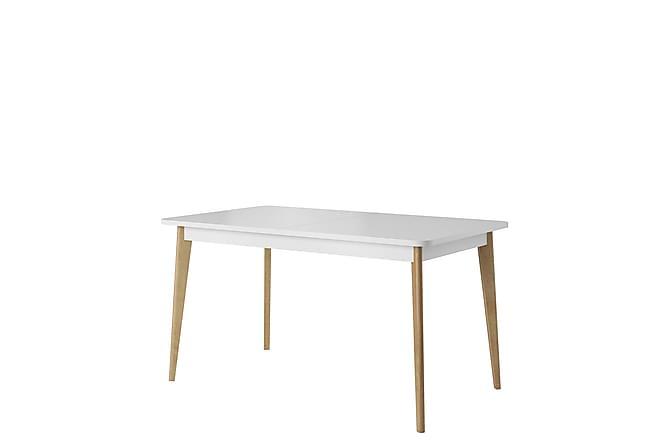 PRIMO Matbord 140x80x76 cm - Beige|Vit - Möbler & Inredning - Bord - Matbord