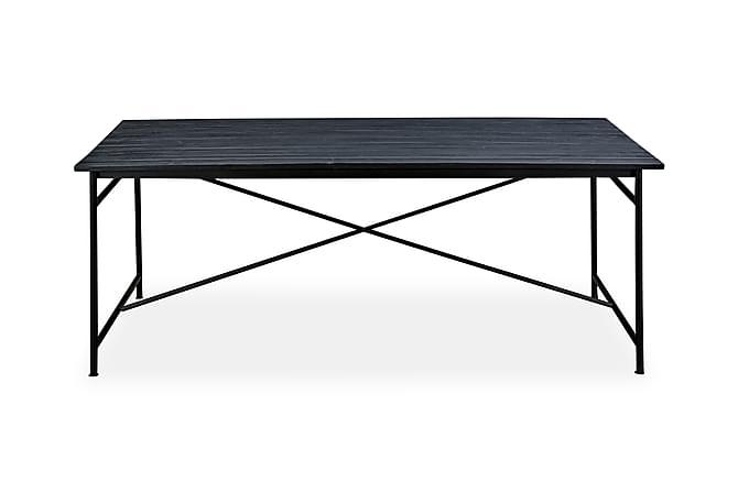 PRISKA Matbord 200 Svart - Möbler & Inredning - Bord - Matbord