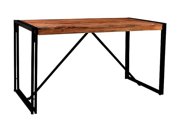 RIPONEL Matbord Trä/Natur/Svart - 140 - Möbler & Inredning - Bord - Matbord