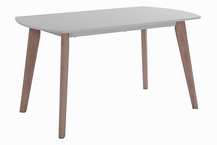 RORA Förlängningsbart Matbord 140x80 Vit/Vitpigmenterad - Möbler & Inredning - Bord - Matbord