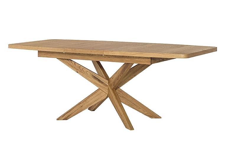 VELES Förlängningsbart Matbord 160 Ek - Möbler & Inredning - Bord - Matbord