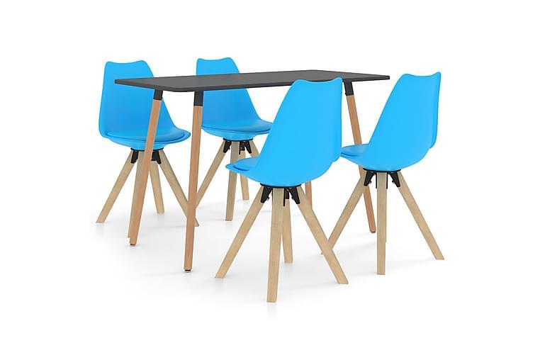 Matgrupp 5 delar blå - Blå - Möbler & Inredning - Bord - Matgrupper
