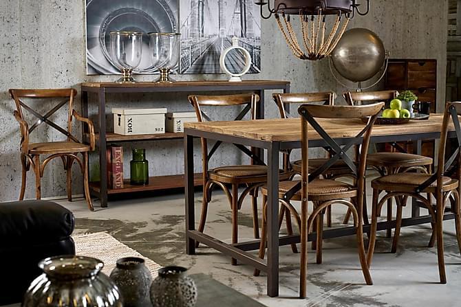 Vera Matgrupp 180x90 6 st Faberge stolar - Inomhus - Bord - Matgrupper