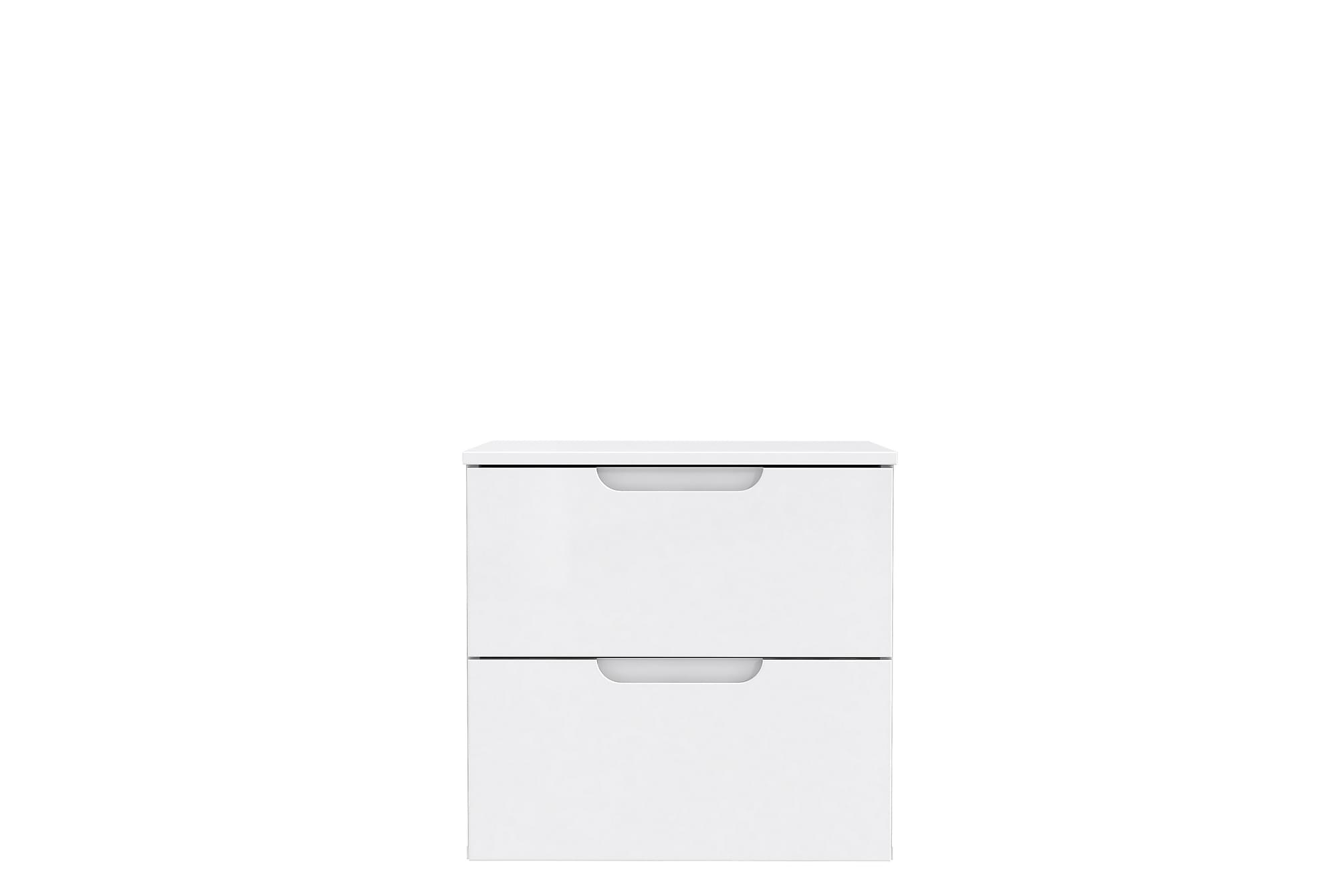 ATLIXCO Sängsida 50x50 cm Vit, Sängbord