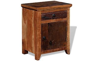 BIRMENSTORF Sängbord Låda + Dörr 40x30 Akacia