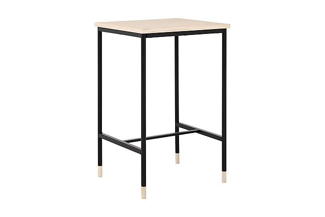 BRANDY Sängbord 45 Ek/Svart - Inomhus - Bord - Sängbord