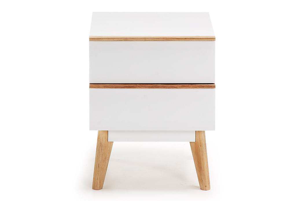 CHIGWELL Sängbord 40x42,5 cm Matt Vit - Möbler & Inredning - Bord - Sängbord