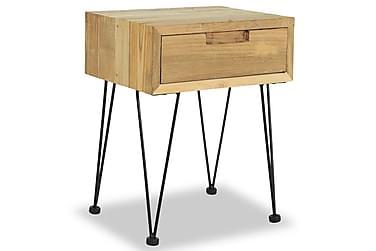 FRICK Sängbord Låda 40x30 Teak
