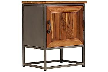 JUMJUM Sängbord med 1 Dörr 40x30 Teak