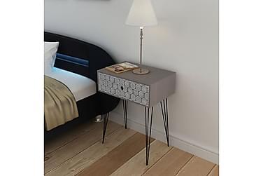 POMSKY Sängbord Låda 44x31 Grå