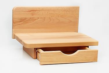 VALENTE Sängbord Trä/Natur