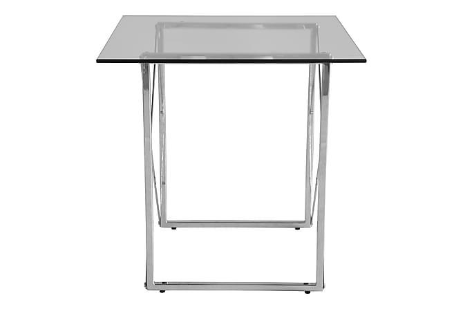 AZO Soffbord 55 Metall/Glas Krom - Inomhus - Bord - Sidobord & lampbord
