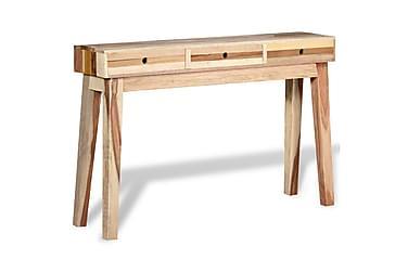 EVIONNAZ Konsolbord 3 Lådor 120x30 Återvunnet Trä