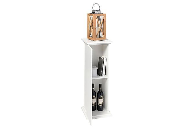 EXMON Piedestalskåp 30 Vit - Möbler & Inredning - Bord - Sidobord & lampbord
