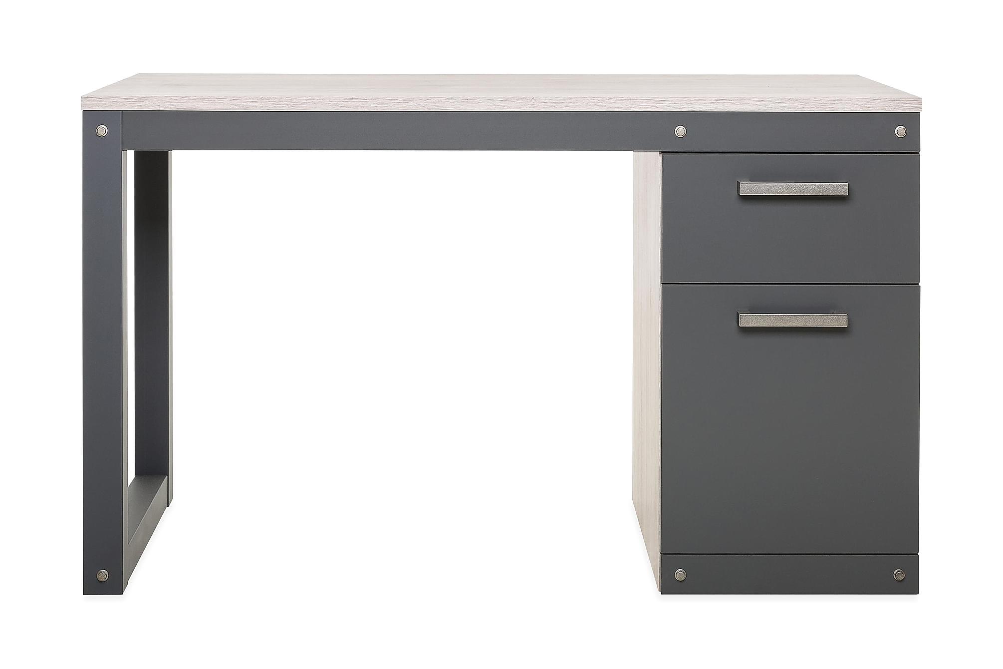 AMARONE Skrivbord Brun/Grå, Skrivbord
