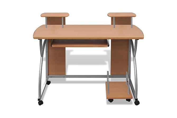 Datorbord Gräsö 120x60cm brun - Brun - Möbler & Inredning - Bord - Skrivbord